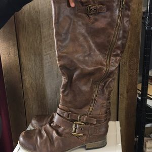 Carlos Santana Brown Boots Size 8.5 Hanna